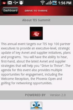 TIS Summit apk screenshot