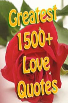 Greatest Love Quotes Ever poster