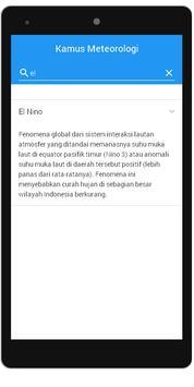 Meteorological Dictionary apk screenshot