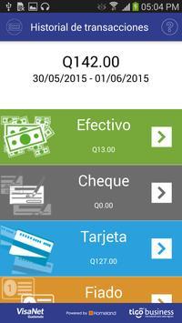 Tigo POS apk screenshot