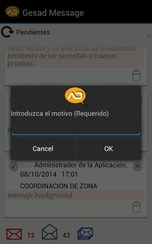 Gesad Message apk screenshot