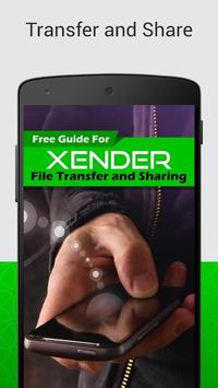 Pro Xender File Transfer Tips poster