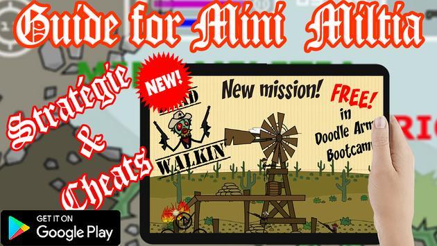 Guide Doodle Army Mini Militia apk screenshot