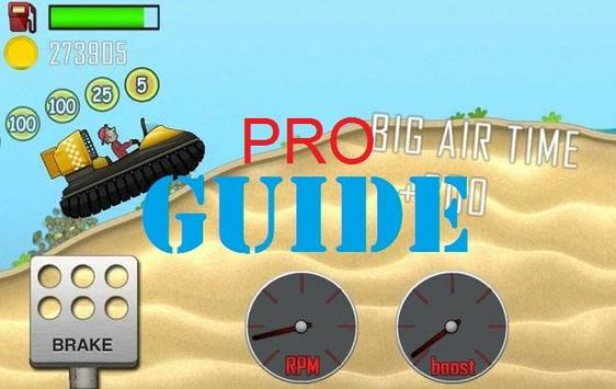 Guide for Hill Climb Racing poster