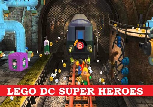 Guide LEGO DC Super Heroes poster