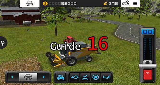 Guide Farming Simulator 16 poster