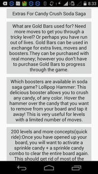 Guide Candy Crush Soda Saga apk screenshot