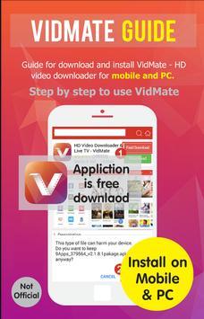 Guide for Vidmate vdo download apk screenshot