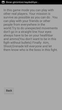 Guide For Dead Arena apk screenshot