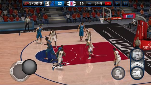 New NBA Live Mobile Tips apk screenshot