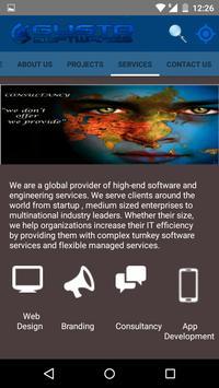 Gusto Softwares apk screenshot