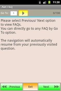 .Net FAQ poster