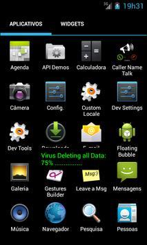Prank Virus Screen apk screenshot