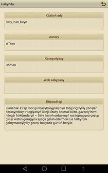 Baty han (latyn) apk screenshot