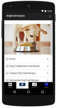 Natural Dog Food Recipes apk screenshot