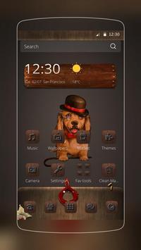 Mr Dog Golden Retriever poster