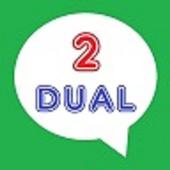Dual accounts for Whatsapp icon