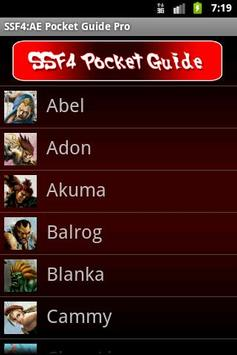 SSF4 AE Pocket Guide poster