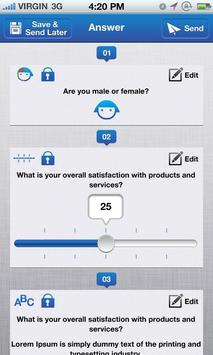 Datafield, Forms and Surveys apk screenshot