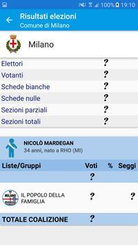 Elezioni 2016 apk screenshot