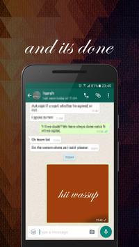 Mosaic-fonts for ur messenger apk screenshot