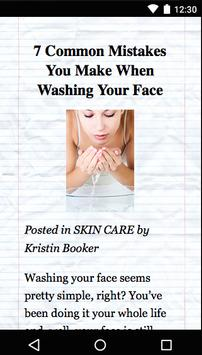 Daily Face Care Guide apk screenshot