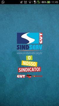 SINDSERV SBC-O Nosso Sindicato poster
