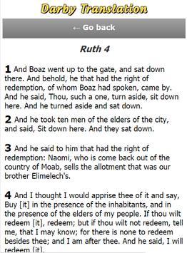 Darby Bible Translation apk screenshot