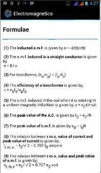 Electromagnetics apk screenshot