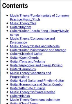 Guitar Guide apk screenshot