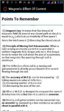 Magnetic Effect Of Current apk screenshot