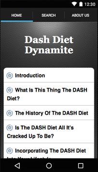 Dash Diet Dynamite poster