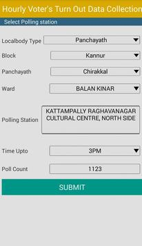 Hourly Poll Status  Kannur apk screenshot