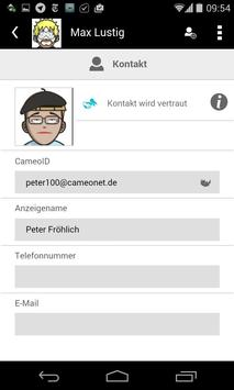 cameoNet apk screenshot