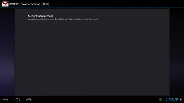 SMSoIP OK.de Plugin apk screenshot