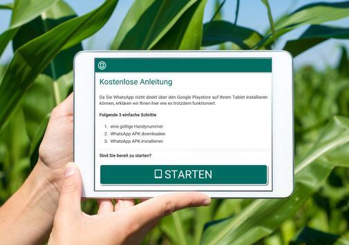 Anleitung Whatsapp für Tablet apk screenshot