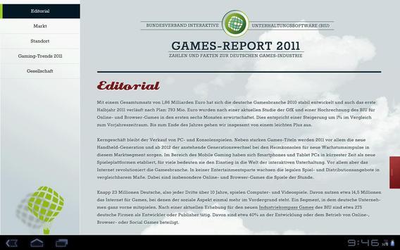 BIU Games-Report 2011 poster