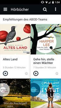 abod - audio books on demand apk screenshot
