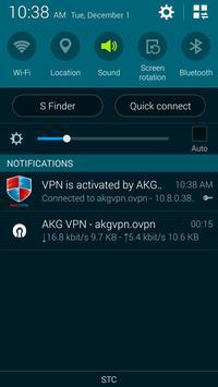 akgvpn free vpn apk screenshot