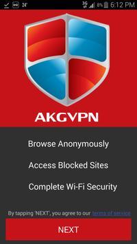 akgvpn free vpn poster