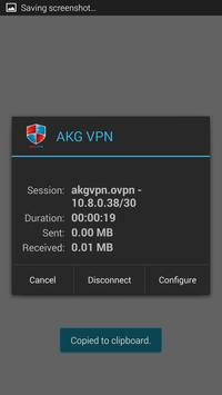 akgvpn free vpn apk screenshot