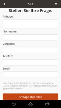 A&K Reinigung apk screenshot