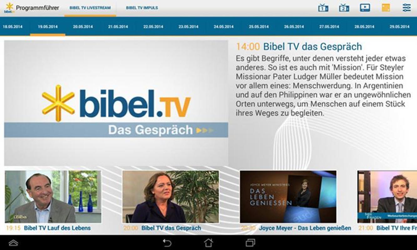 Bibeltv Mediathek