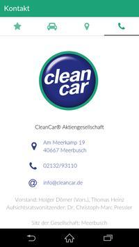 CleanCar apk screenshot
