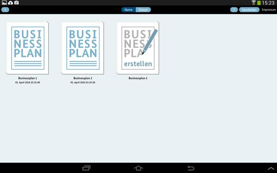 BMWi Businessplan apk screenshot