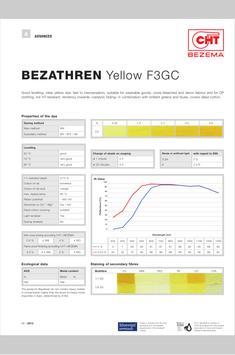 BEZEMA Dyestuff Range apk screenshot