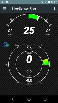 BikeSensor-Free motorcycle app poster