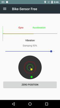 BikeSensor-Free motorcycle app apk screenshot