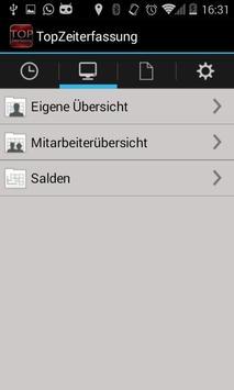 TopZeiterfassung apk screenshot