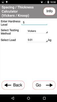 Tools for hardness testing apk screenshot